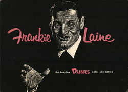 The Frankie Laine Show Dunes Hotel and Casino