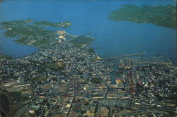 Air View of Salem Harbor
