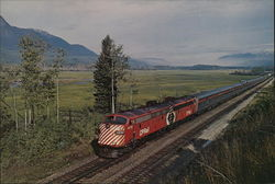 "Canadian Pacific - ""The Canadian"" Large Format Postcard"