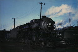 New York Central 5328 Large Format Postcard