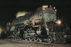 Union Pacific 3985 Large Format Postcard