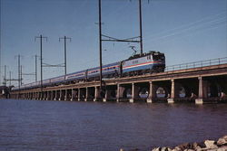 Amtrak 914 Large Format Postcard
