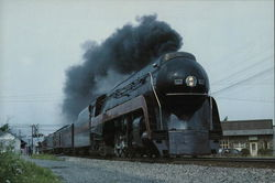 Norfolk & Western 611 Large Format Postcard