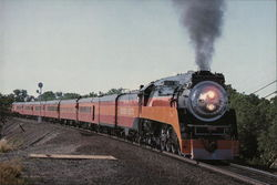 Southern Pacific 4449 Large Format Postcard