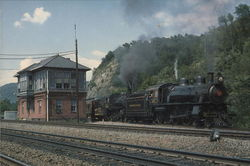 Pennsylvania Railroad Large Format Postcard