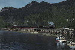 BC Rail Large Format Postcard