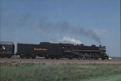 Nickel Plate Mikado 587 Large Format Postcard