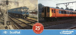 ScotRail 25th Anniversary of the Blue Trains