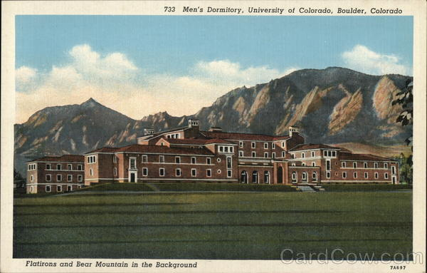 Men's Dormitory, University of Colorado Boulder