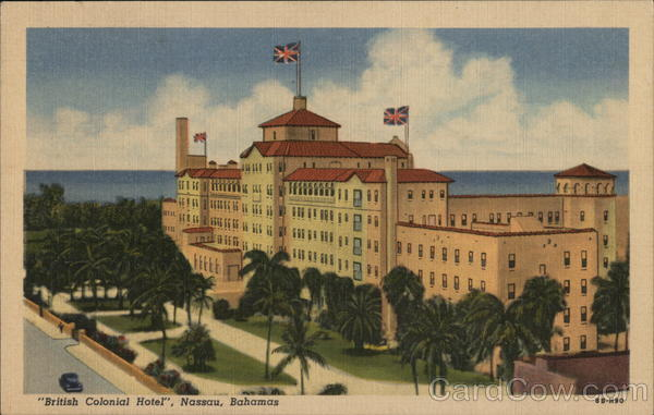 British Colonial Hotel Nassau Bahamas Caribbean Islands