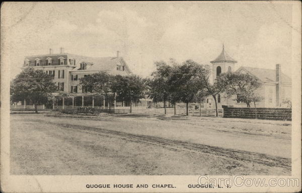 Quogue House and Chapel New York