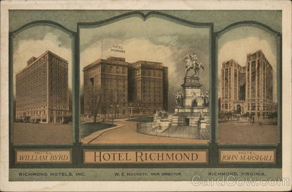 Richmond Hotels, Inc. Virginia