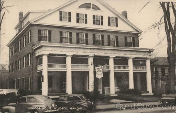 Windsor House Vermont
