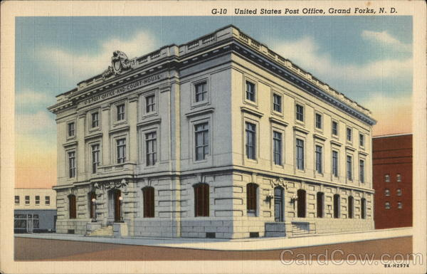 Grand Forks (ND) United States  City new picture : United States Post Office