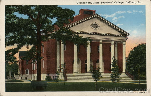 Gymnasium, State Teachers' College Indiana Pennsylvania