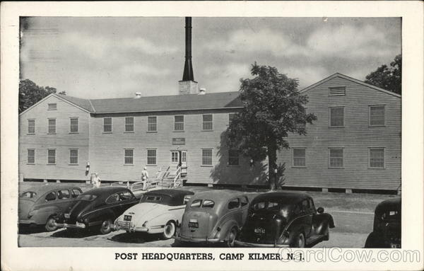 Post Headquarters Camp Kilmer New Jersey