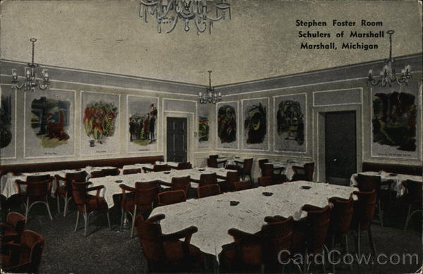 Schulers of Marshall - Stephen Foster Room Michigan