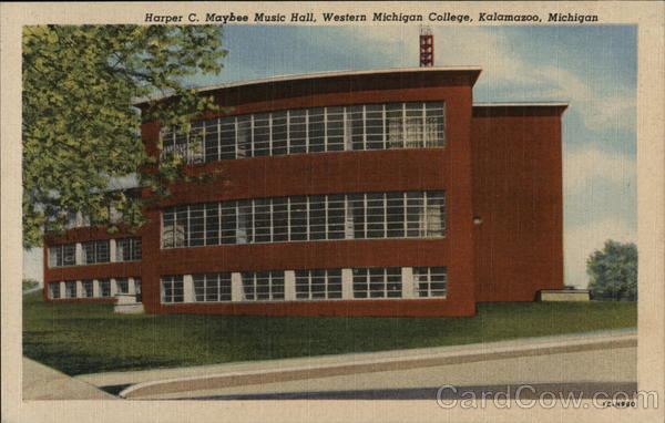 Western Michigan College - Harper C. Maybee Music Hall Kalamazoo
