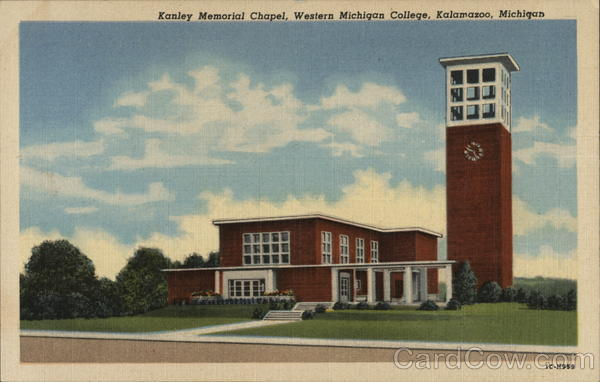 Kanley Memorial Chapel, Western Michigan College Kalamazoo
