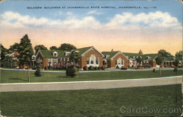 Soldiers' Buildings at Jacksonville State Hospital Illinois