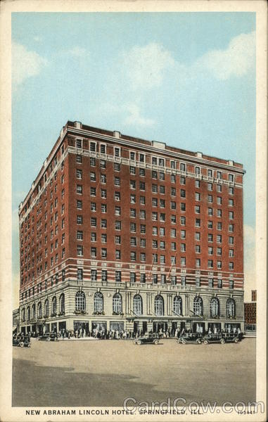 New Abraham Lincoln Hotel Springfield Illinois