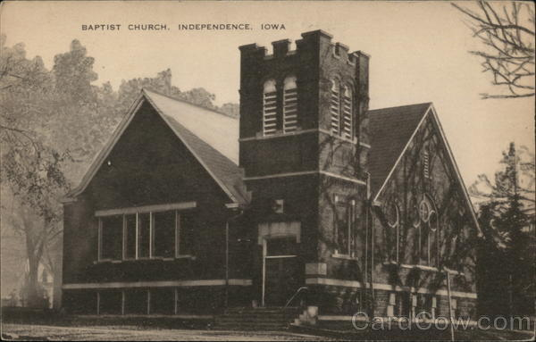 Baptist Church Independence Iowa