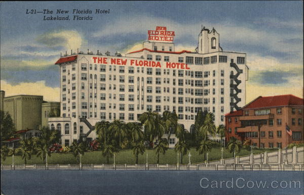 The New Florida Hotel Lakeland