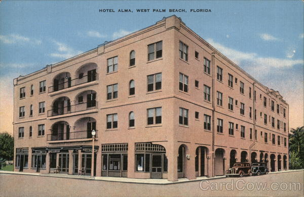 Hotel Alma West Palm Beach Florida
