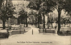 East College, De Pauw University