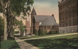 Looking North along College Row, University of Vermont