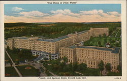 French Lick Springs Hotel Postcard