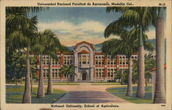 National University , School of Agriculture