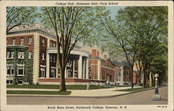 Dartmouth College - College, Robinson Halls and Tuck School