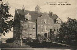 Winslow Hall, Agriculture University of Maine
