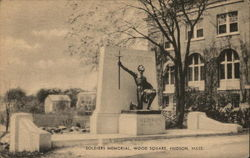 Soldiers Memorial, Wood Square