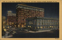 U.S. Post Office, Guaranty Bank & Trust Co., and Hotel Prichard