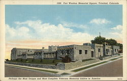 Fort Wootton Memorial Square Postcard
