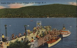 Public Pier, Lake George Village