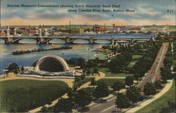 Storrow Memorial Embankment and Hatch Memorial Band Shell