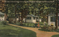 Trail Side Cabins at Historic Entrance to Mammoth Cave