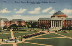 Southern Methodist University - Central Campus Quadrangle