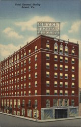 Hotel General Shelby Postcard
