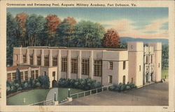 Gymnasium and Swimming Pool, Augusta Military Academy