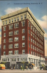 Commercial Building Postcard