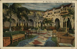 The Patio of Hotel Hershey