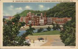 Senior High School adn University of Pittsburgh Junior College
