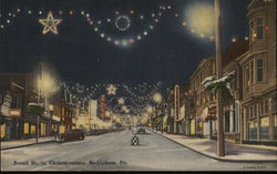 Broad Street at Christmastime