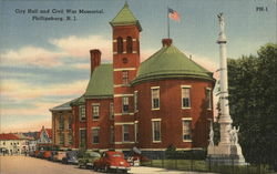 City Hall and Civil War Memorial