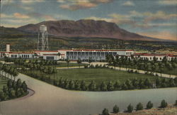 Carrie Tingley Hospital and Caballo Mountains