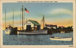 Hyannis Port Civic Association Pier